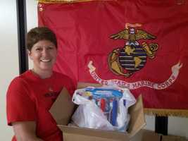 Soto plans a packing party this weekend with volunteers who will pack 50 or more boxes addressed to individual Marines. Donations are still being accepted. Soto can be reached at sotolynn9306@yahoo.com.