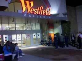 Shoppers waited in line for hours at the Roseville Galleria and other malls in Northern California, just hoping for the chance to score a good deal.