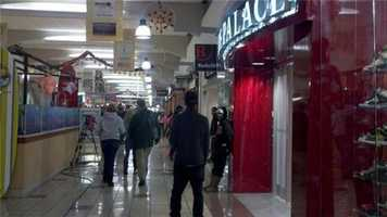 Mall security says Black Friday shoppers in Stockton have been calm and peaceful.