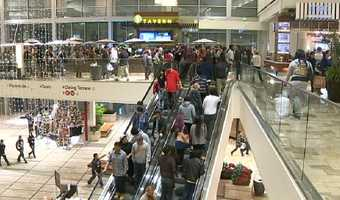 Shoppers look for deals on Black Friday.
