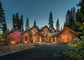 The 'Simple Tahoe' cabin home brings together outbuildings into one structure, creating an estate designed for family gathering.