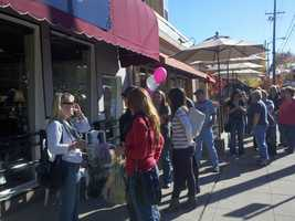 One of those small businesses was the East Sac Mercantile, which opened on Black Friday. (Nov. 23, 2012)