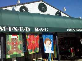 Small businesses were encouraging consumers to shop local on Black Friday. (Nov. 23, 2012)