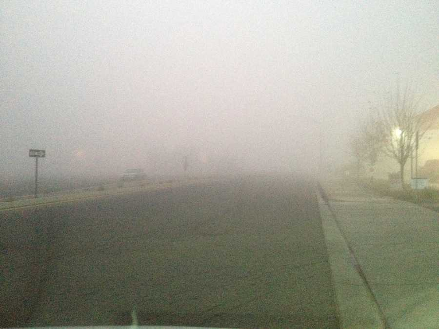 The National Weather Service issued a dense fog advisory for the Bay Area on Monday morning and warned of fog through the Valley (Nov. 26, 2012).
