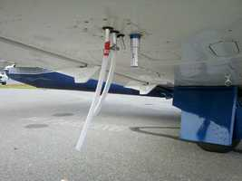 In the past, planes would be used for workers to look for visual evidence of leaks.