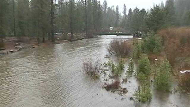 Residents along the Truckee River whose homes are at risk of being flooded are being advised to evacuate.