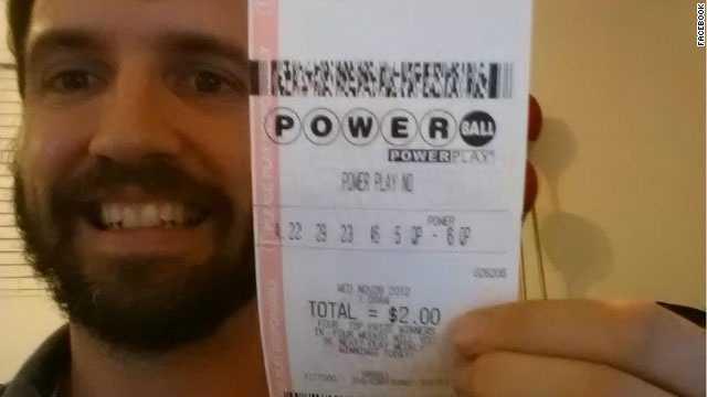 Fake Powerball ticket