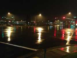 Stop-and-go rain entered Northern California late Tuesday and into Wednesday morning, which may have factored into several crashes that slowed the Wednesday morning commute.