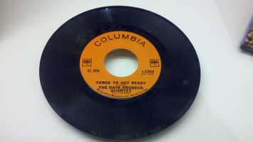 This record of the Dave Nrubeck Quartet is kept at the Brubeck Institute at UOP.Brubeck had a career that spanned almost all American jazz since World War II.