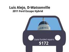 Luis Alejo, D-Watsonville2011 Ford Escape HybridState's purchase price: $37,269State's sale price: $17,000$172 for oil and filter changes