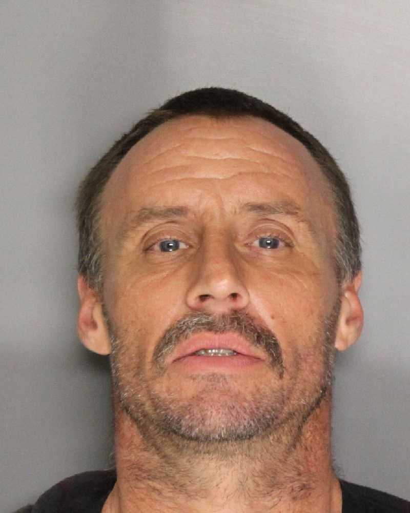 Angelo Backus, 43, was arrested onsuspicionof possessing narcotics and outstanding arrest warrants, according to the Sacramento Police Department.