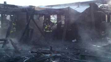 Crews monitored smoke and knocked down hot spots at a vacant, detached garage in Sacramento on Tuesday morning. A fire started in or near the garage -- located on Santa Ana Avenue, near Interstate 80 and Joyce Lane -- about 6 a.m.