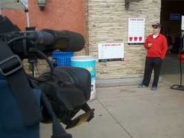 Perkins is a bell ringer for the Salvation Army in Fairfield.