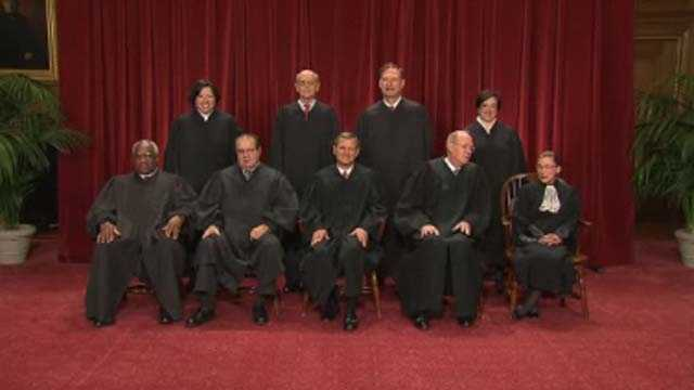 2 casesThe U.S. Supreme Court announced that it would enter the national debate over same-sex by agreeing to take on two cases. One case, from California, could establish or reject aconstitutional right to marry&#x3B; the second case, from New York, challenges a federal law that requires the federal government to deny benefits to same-sex couples.