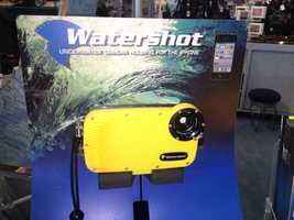 Turn your iPhone into an underwater camera with the $99.95 Watershot case.