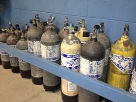 Dolphin SCUBA has a complete line of rental equipment for divers.