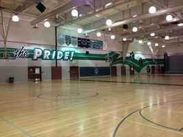 Colin Kaepernick's high school gym, the Pride of Pitman.