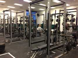 Colin Kaepernick used to work out in this weight room at Pitman High School in Turlock.