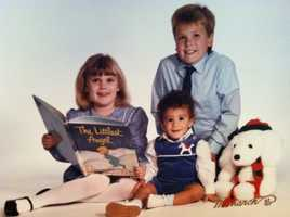 The Kaepernick kids: Kyle, Devon and Colin (family photo)