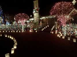 Bill Holden died earlier this year, but his family has carried on his tradition of putting up an elaborate light display in Granite Bay.
