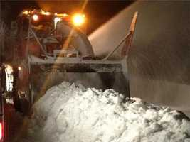 Caltrans is working hard to keep Interstate 80 open as heavy snowfall fell Wednesday morning.