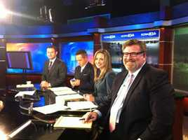 Political experts Jason Kinney and Kevin Eckery join the KCRA team on set to provide instant analysis.