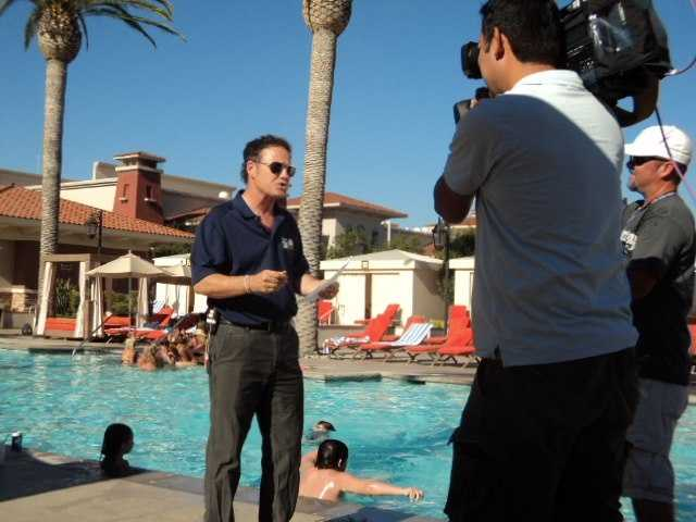 Back in the U.S., Walt Gray reported live from the Olympic Zone at Thunder Valley Casino and Resort.