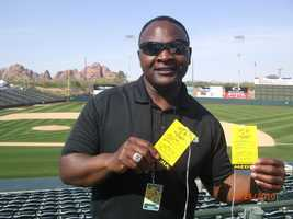 Del Rodgers shows his credentials for the A's playoff series.
