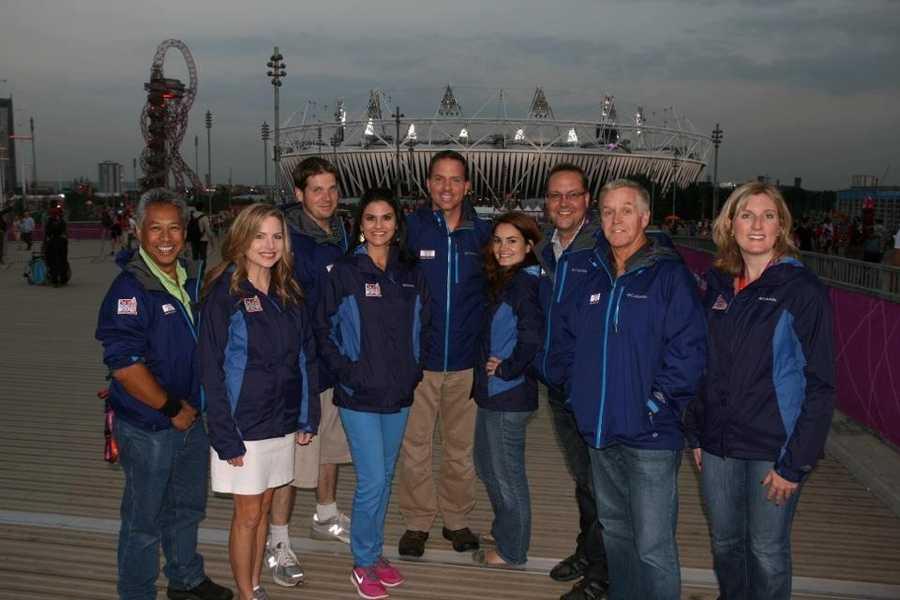 The Hearst Television Olympics team.