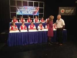 KCRA hosts a telethon to raise money for victims of Hurricane Sandy.