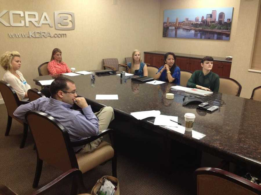 A handful of times each year, KCRA welcomes its new internswith an orientation.