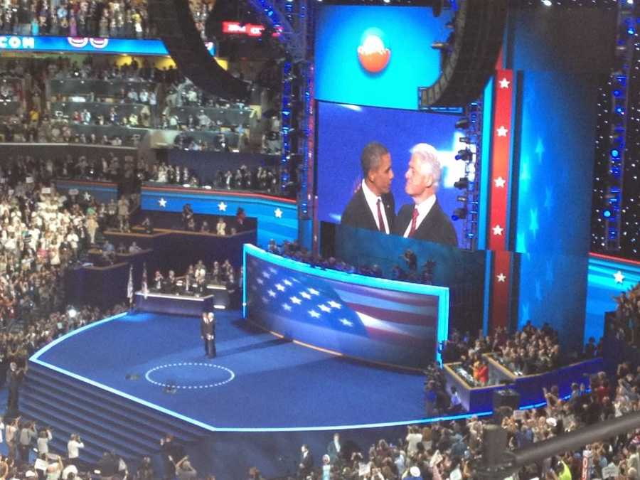 In September, KCRA was in Charlotte for the 2012 DemocraticNational Convention.