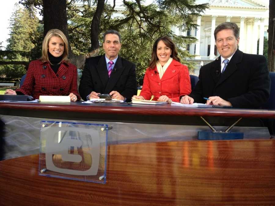 Kellie DeMarco, Gulstan Dart, Edie Lambert and Kevin Riggs were live from the state Capitol in January for Gov. Jerry Brown's State of the State address.