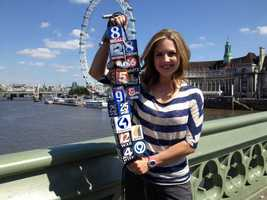 Deirdre was also busy reporting for KCRA's sister stations while in London.