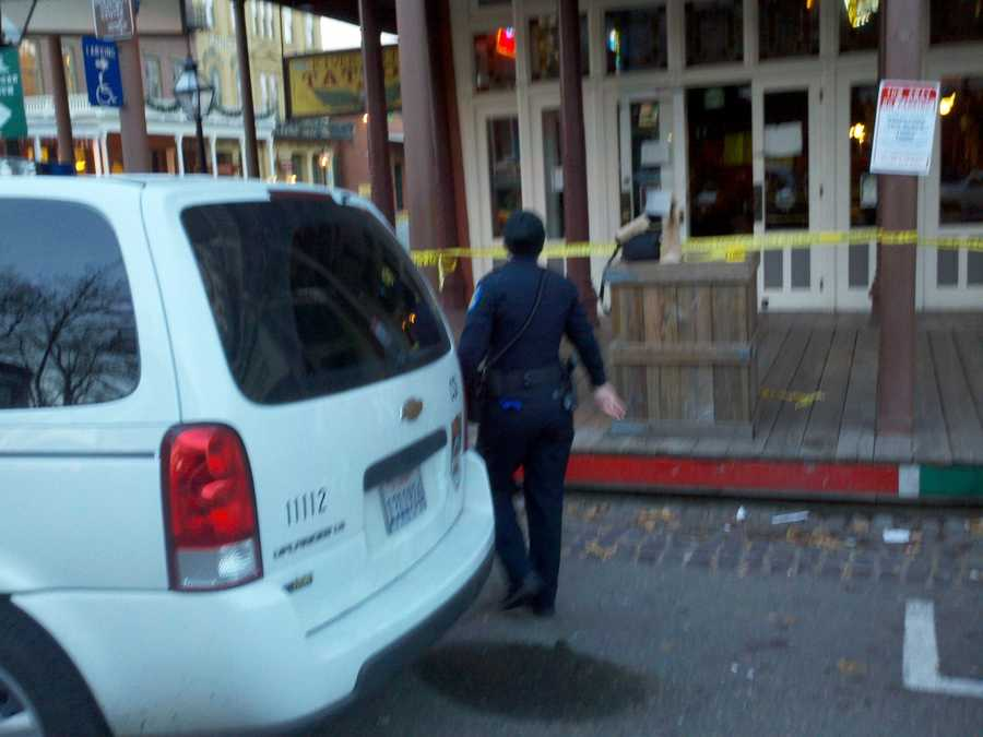 Police have taken a man into custody after he was involved in a deadly shooting at an Old Sacramento bar on New Year's Eve, officers said Tuesday.