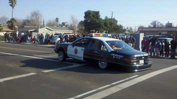 On Tuesday, Stockton celebrated Freedom Day, which included a parade and a celebration dinner. The parade started at the San Joaquin County Fairgrounds with floats, marching bands and police. This New Year's Day marks the 150th anniversary of the Emancipation Proclamation of 1863 -- hence, Freedom Day.