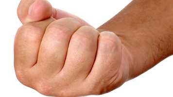 2. Knuckle Cracking -- Punch your other hand or fan out your fingers to keep yourself from cracking your knuckles, Claiborn says. Keep a record of your successes and lapses to banish the habit for good.