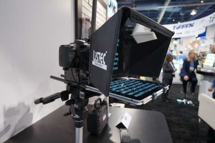 No teleprompter? No problem with this iPad based teleprompter for easy on-the-go TV.