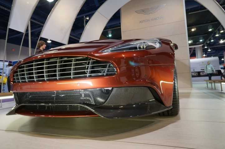 A beautiful Aston Martin at the show.
