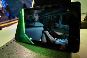 Nvidia's cloud-gaming solution allowed users to play games from tablets, TVs, computers and web browsers.