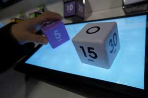 These cube timers are easy to use. Just put the number you want up and it will start to countdown.