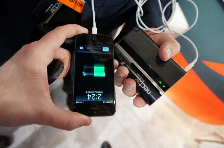 Need power? Nectar provides power to SmartPhones needing a charge using butane.