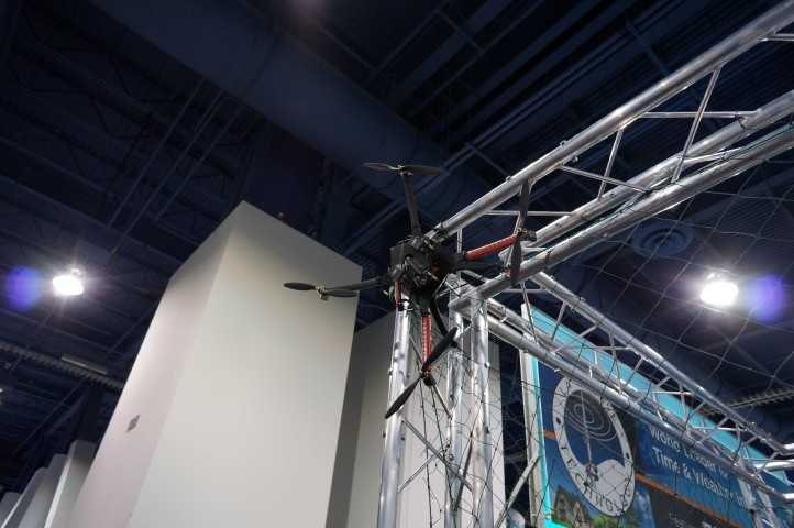 Another quad-copter with a video camera.