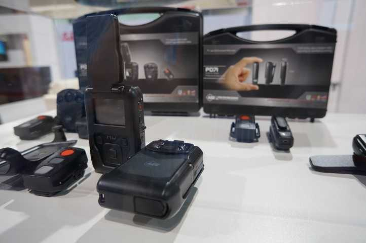 Wearable action cameras are getting smaller.