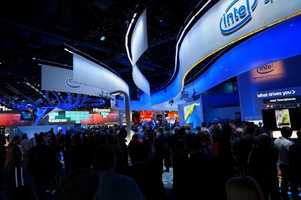 Another photo from the Intel booth.