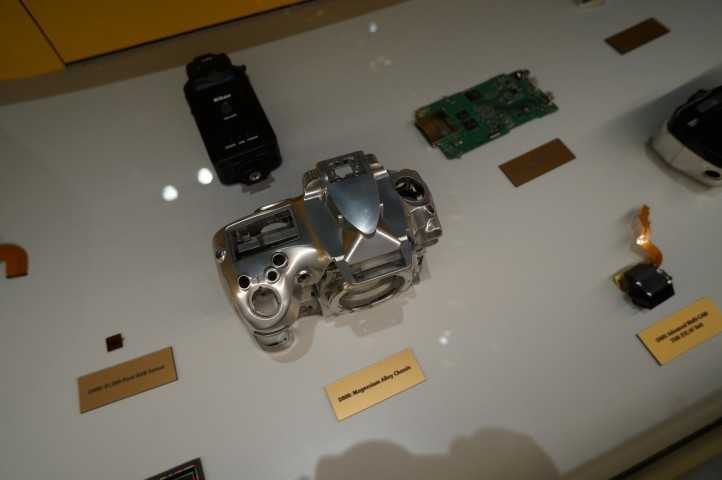 The guts of a pro camera.