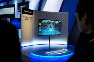 4k television sets were also a highlight of CES. The sizes of the televisions are larger and offer better resolution.