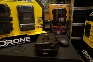 In addition to the Epix, the company was also showing off their wireless surveillance systems.