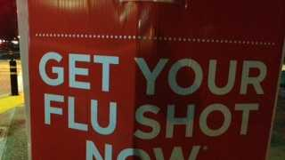 Some local pharmacies and clinics are reporting a temporary shortage of flu shots.