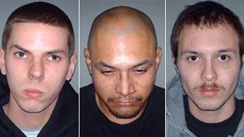 Brandon Leroy Brockl, 21, Benjamin Rodriguez, 32, Marvin Nelson, 21.